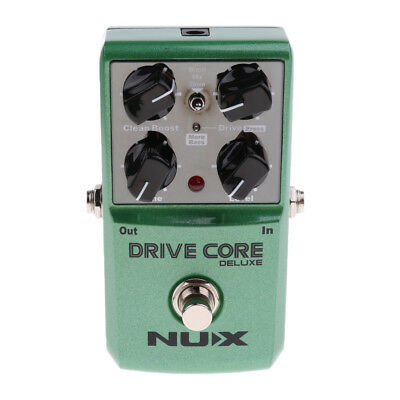 NUX Drive Core Deluxe Overdrive Guitar Effect Pedal for Electric Guitar