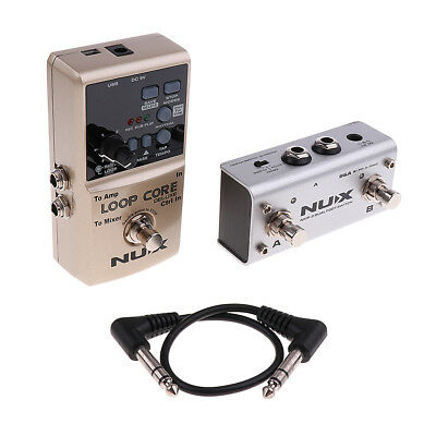 NUX Loop Core Deluxe Electric Guitar Effect Pedal True Bypass Musical Parts