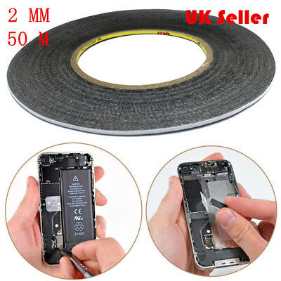 2mm Double Sided Tape Adhesive Sticky Rubberized Mobile Phone LCD Touch Screen