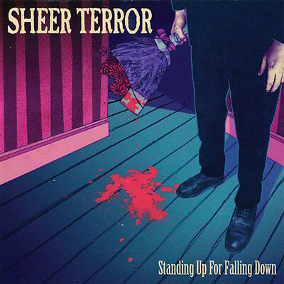 "Sheer Terror - Standing Up For Falling Down COLORED 12"" NYHC BLOOD FOR BLOOD"