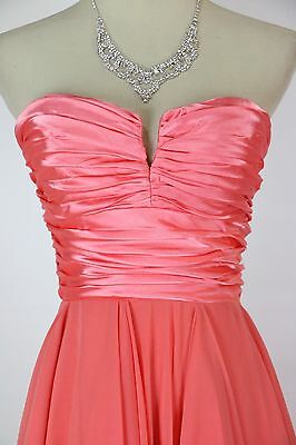 9e39ea2b Windsor $110 Coral Formal Prom Cruise Evening Party Short Long Club Dress  size M