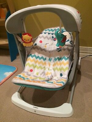Fisher-Price Colourful Carnival Swing & Seat