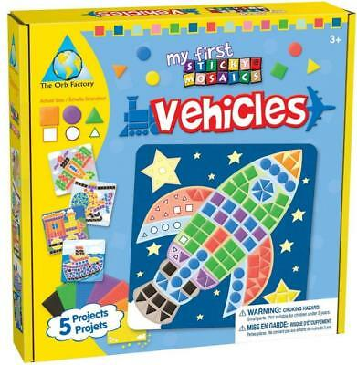 Orb Factory 620706 - My First Sticky Mosaics Vehicles