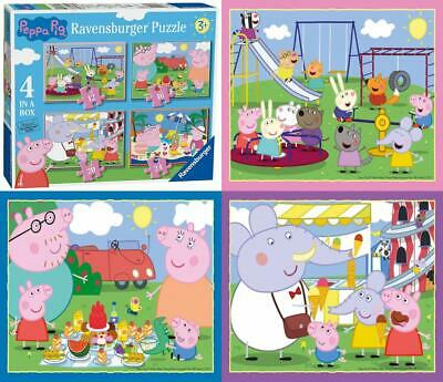 Ravensburger – Peppa Pig – Puzzle 4 in 1 Box