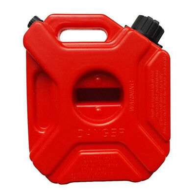 3L 5L Motorcycle Cans Fuel Tank Spare Petrol Tanks Gasoline Oil Container Red