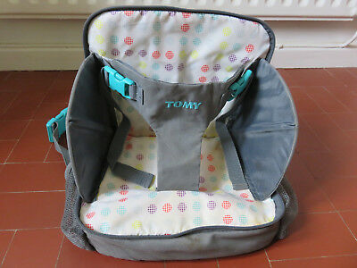 Tomy 3 in 1 travel booster seat / change bag / change mat, good used condition