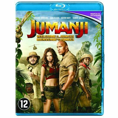 Blu-ray - Jumanji : Bienvenue Dans la Jungle - Dwayne Johnson, Kevin Hart, Jack