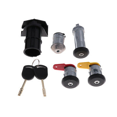 MagiDeal Ignition Core High Security Steering Column Lock for Ford Carnival