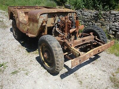 Ford GPW jeep VEP restoration project