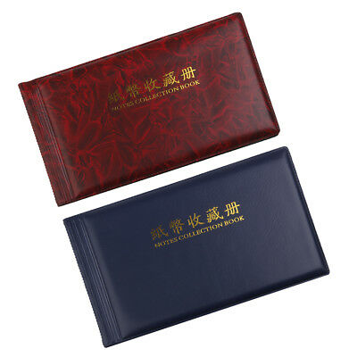 MagiDeal 2pcs 30 Page Paper Money Currency Banknote Collection Album Storage