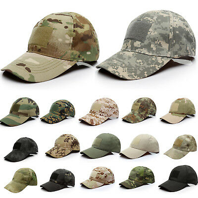 AU Mens Tactical CS Camo Baseball Hats Military Army Special Forces Airsoft Cap