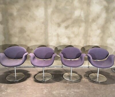 Chaises Tulipes Vintage Pierre Paulin