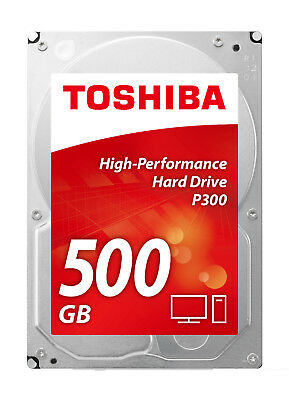"Toshiba 500GB to 3TB 3.5"" SATA Internal Desktop Hard Drive"