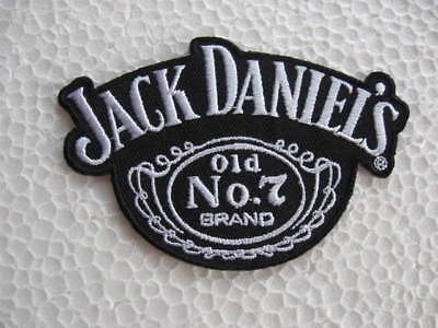 Aufnäher Patch Jack Daniels Racing Motorsport Autocross Biker Chopper Bügelbild