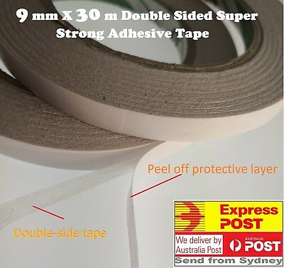 Double Sided Tape Super Strong Sticky  10 mm x 30 M Scrap booking