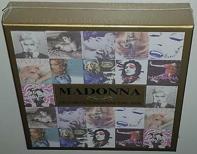 Madonna The Complete Studio Albums 1983-2008 Brand New Sealed 11Cd Boxset