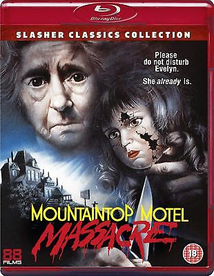 Blu Ray  Mountaintop Motel Massacre   ( Studio 88 Films )  New Sealed Uk Stock