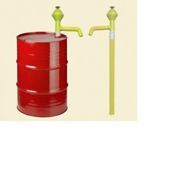 MANUAL CHEMICAL LIFT DRUM BARREL HAND LIFT PUMP 1lt CAPACITY PER UP STROKE!