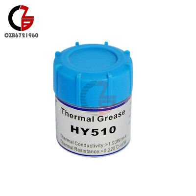 10g HY510 Grey Thermal Conductive Grease Paste Heat for CPU GPU Chipset Cooling