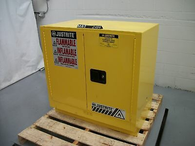 Justrite 892300 22 Gallon Flammable Safety Storage Cabinet (MAT2414)