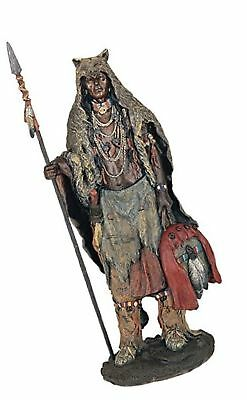 StealStreet SS-G-11356 Native American Warrior Collectible Indian Decoration ...