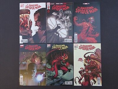 Amazing Spider-man #794 4th, #795, #796, #797, #798, #799 NM 2nd & 3rd Prints