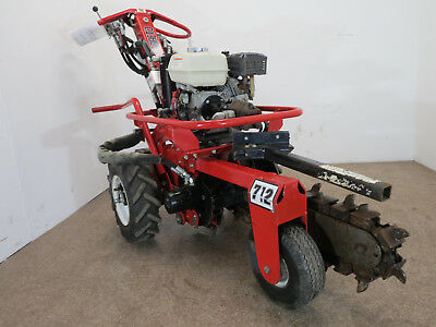 2013 Barreto 712 Micro Trencher-Honda Engine- 96 Hours on it! Free Shipping!!!