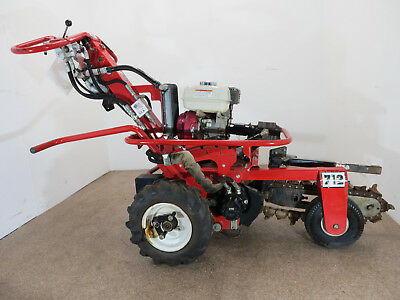 2013 Barreto 712 Micro Trencher-Honda Engine- 187 Hours on it! Free Shipping!!!