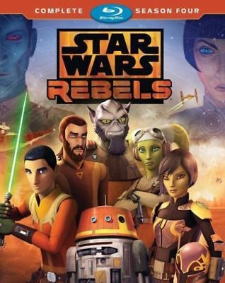 PREORDER: STAR WARS REBELS - SEASON 4  -  Blu Ray - Sealed Region free