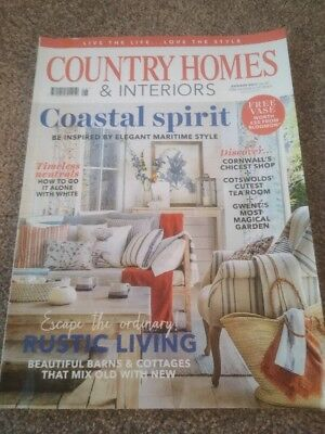 Country Homes And Interiors Magazine August 2017 - VGC