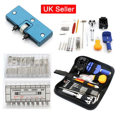 Watch Repair Tools Kit Set Watchmaker Watch Back Case Remover Watch Band Strap S