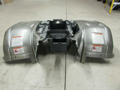 Yamaha Grizzly 660 Rear Wing fenders bado frame SPECIAL EDITION  gray