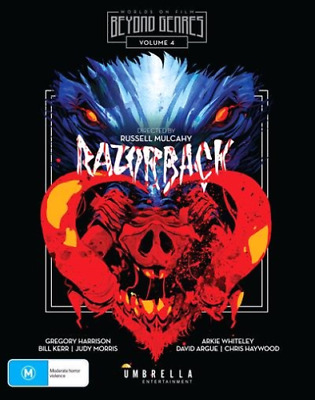 RAZORBACK remastered  -  BLU RAY  - Sealed Region free