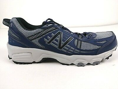 b227f42e3d15 New Balance 410 v4 Men s Trail Running Shoes 11.5 Blue Black  MT410SN4