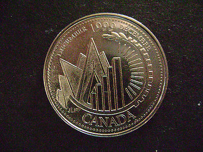 CANADA-1999-25 cents-DECEMBER -Fine