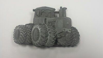 Vintage 1980 Cut-Out **john Deere** Tractor Pewter Belt Buckle 8440