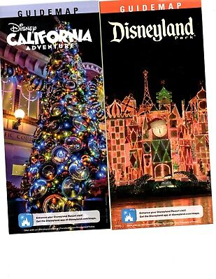 Disneyland & DCA 2017 Disney Park Guide & Maps Christmas @ IT'S A SMALL WORLD