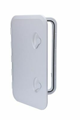 "Amarine-made 24"" x 14"" ACCESS HATCH & LID Marine Caravan RV -White (353mm*606mm)"