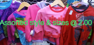 40 x Assorted new kids clothes. ex display & samples @ $2.00
