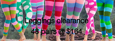 48 x girls knitted leggings @ $164 (all include)