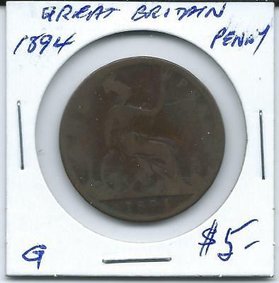 Great Britain 1894  Penny