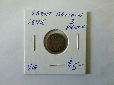 Great Britain 1895  3  Pence