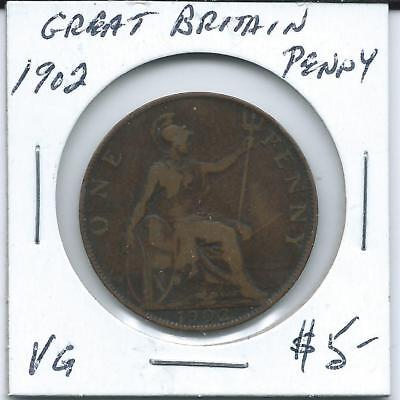 Great Britain 1902  Penny