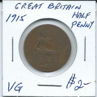 Great Britain 1915  Penny