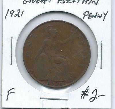 Great Britain 1921 Penny
