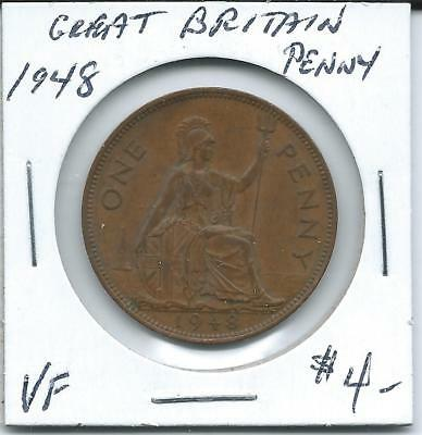 Great Britain 1948  Penny