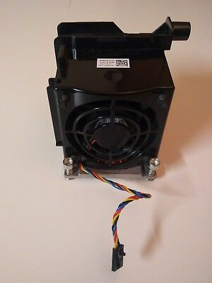 Dell Precision T5500 T7500 Second CPU Cooling Heatsink + Fan G082W W567F