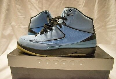 designer fashion 3084a 45c1d Nike Air Jordan 2 Retro QF Candy Pack University Blue DS Men s Size 10