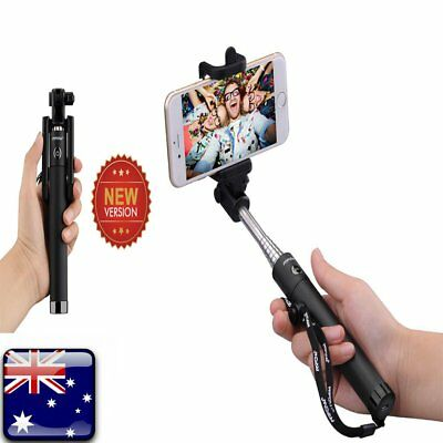 Mpow Selfie Stick Bluetooth Highly-Extendable and Compact Handheld Monopod AU