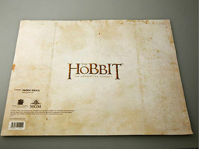The Lord of The Rings Middle Earth The Hobbit Sorin treasure map Prop Collect